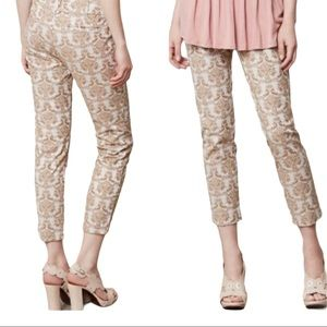 Cartonnier Brocade Charlie Ankle Pant Size 4